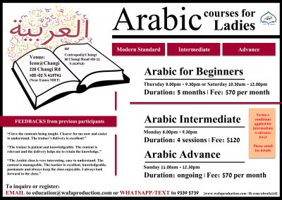 Arabic for Ladies: Beginners