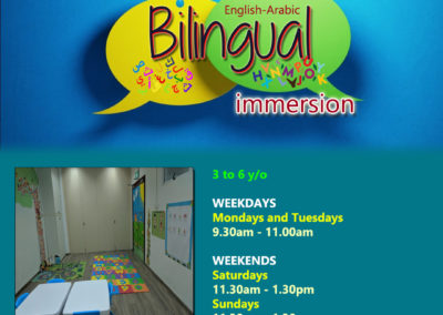 Bilingual IE Schedule